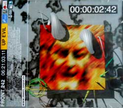 FRONT 242 ''Up Evil'' (1993 RI 2008 Soyuz press, with obi, sealed) (CD)