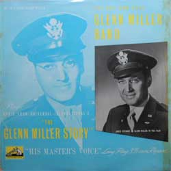 "винил LP GLEN MILLER BAND ""The Glen Miller Stiry"" (10"") (1954 UK press, laminated, vg+/vg+)"