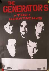 "GENERATORS, The ""The Heartachers"" афиша"
