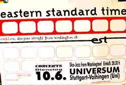 "EASTERN STANDARD TIME ""Carribean Ska-Jazz Straight From Washington DC"" афиша"