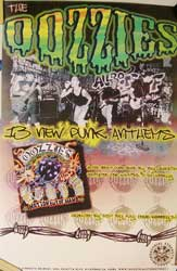 "OOZZIES ""13 New Punk Anthems"" афиша"