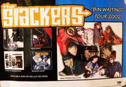 SLACKERS,the ''Bin Waiting Tour 2002''