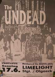 UNDEAD, the featuring ex-MISFITS Bobby Steele & Joey Image