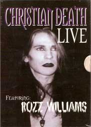 CHRISTIAN DEATH Live (DVD)