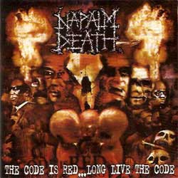 NAPALM DEATH ''The Code Is Red… Long Live The Code'' (CD ФОНО)