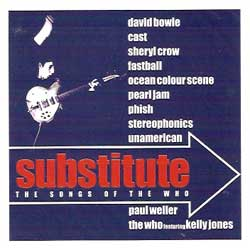 va SUBSTITUTE - The Songs Of THE WHO (CD)
