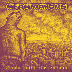 MEANTRAITORS ''Down With The Human'' (2019 Neuroempire Records, mint/mint, still sealed) (CD)