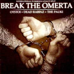 "ПАУКИ+OTSTOI+DEAD RABINZ ''Break the Omerta"" 3way split (CD)"