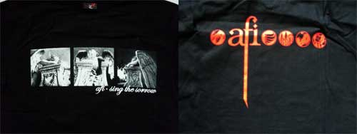 футболка AFI ''Sing The Sorrow'' (XL) (F230)