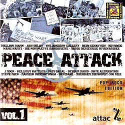 va PEACE ATTACK vol.1 - pop/rock edition